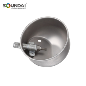 Poultry Farming Equipment High Quality Round 304 Stainless Steel Cow Drinking Bowl