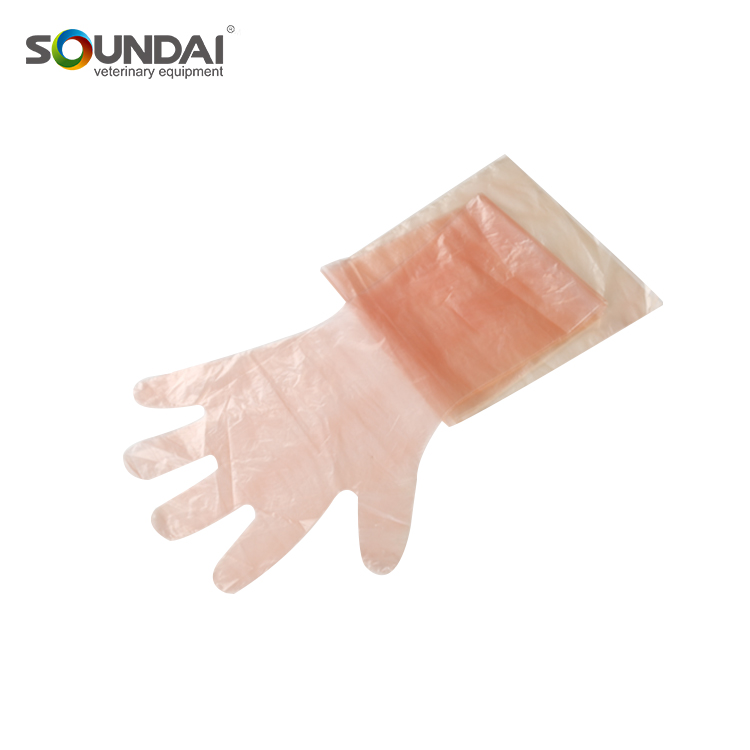 Strong Orange Disposable Latex Surgical Glove