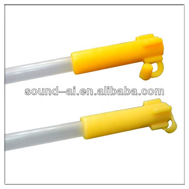 Foam Tip Artificial Insemination Sponge Catheter With Handle And End Plug M