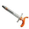High Quality Adjustable 30ml PC Plastic Steel Veterinary Poultry Syringe