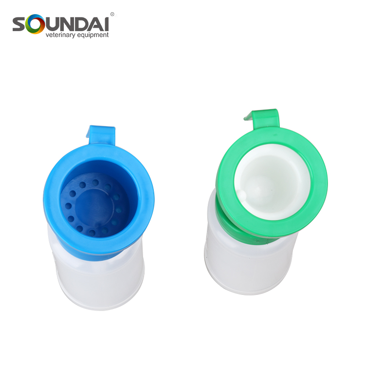 Plastic 300ml Non-Return Dipper Cup for Livestock Animal Drinking Fountain