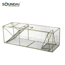 Galvanized Wire Cage Live Animal Catch Cage Trap