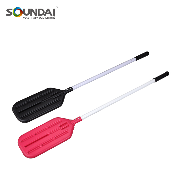 Light Weight Soft Rubber Grip PP Rattle Paddle